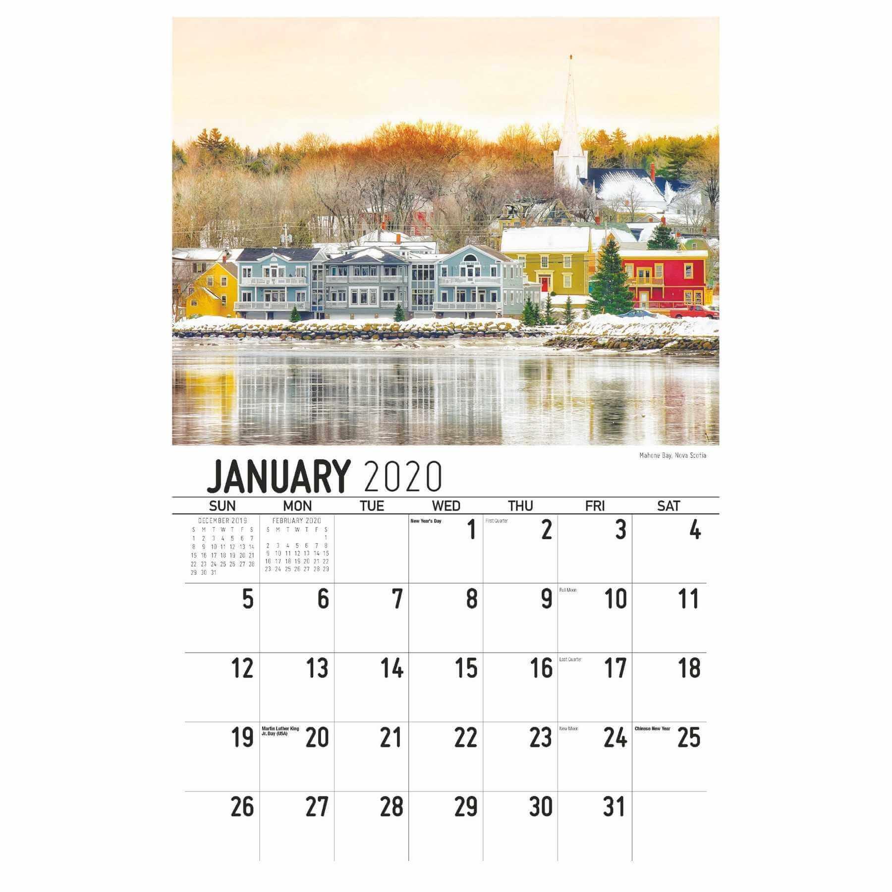 Galleria Wall Calendar 2020 Scenes Of Atlantic Canada