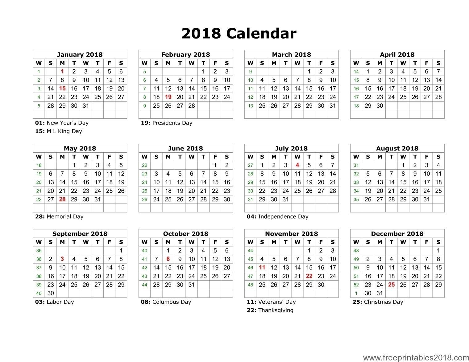 Get Images Of A Calendar January Through December ⋆ The