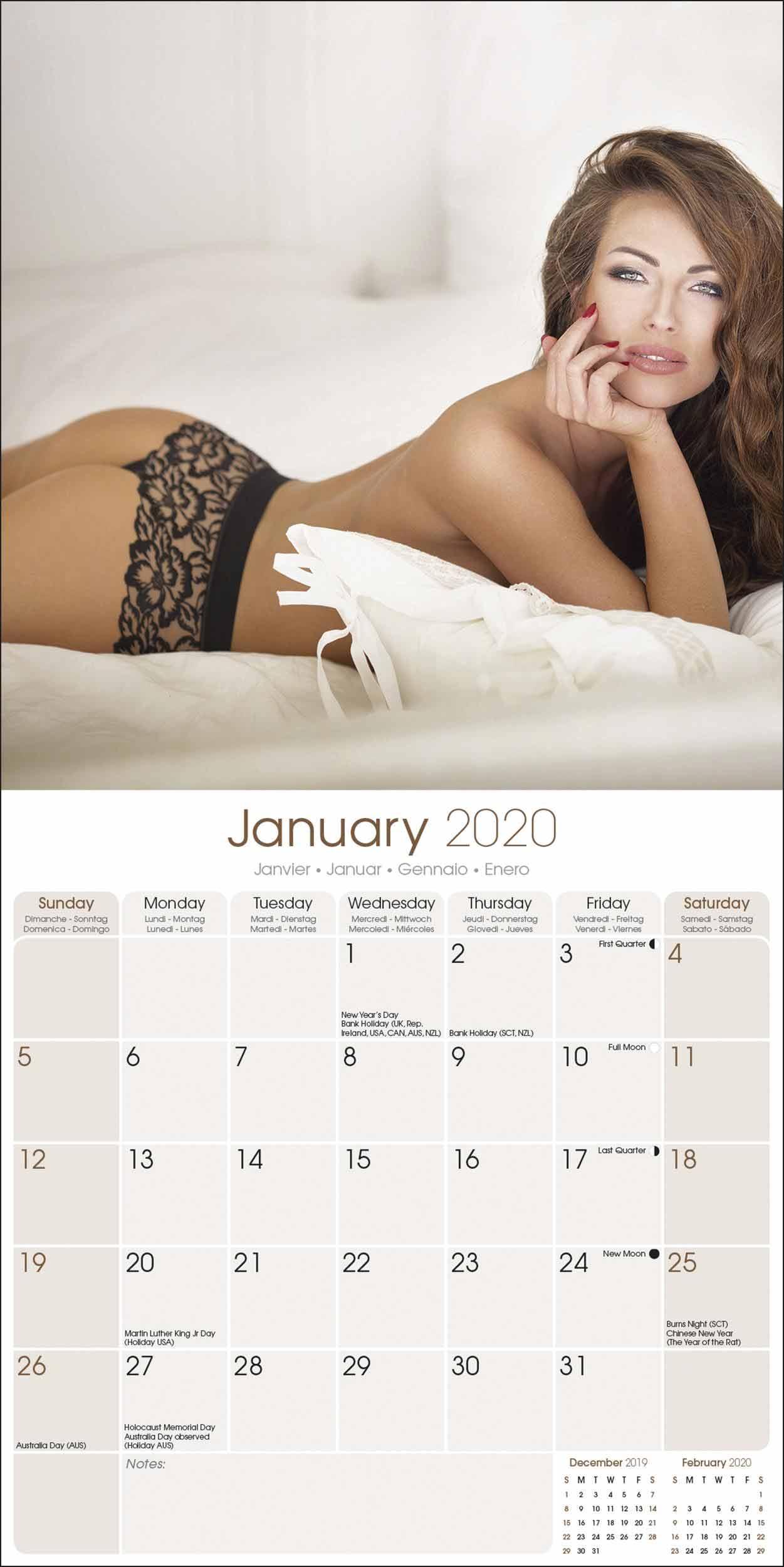 Girls Calendar 2020