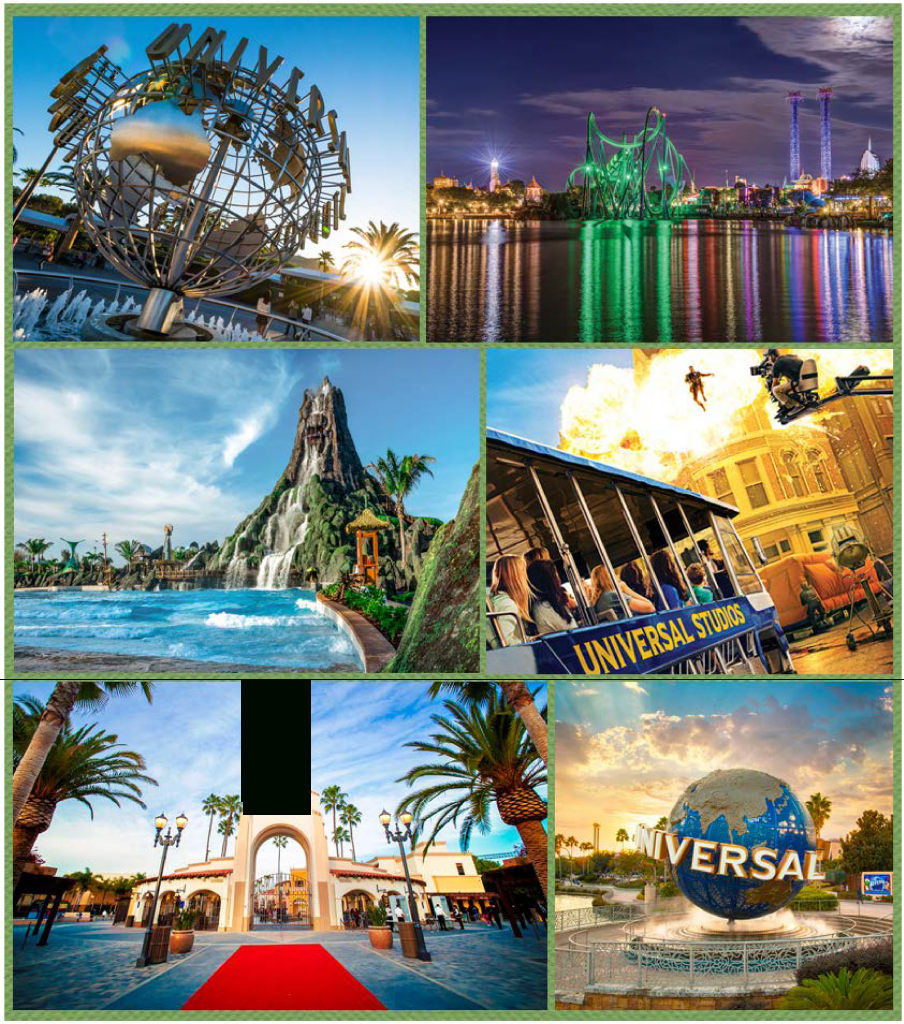 Green Is Universal | Theme Parks