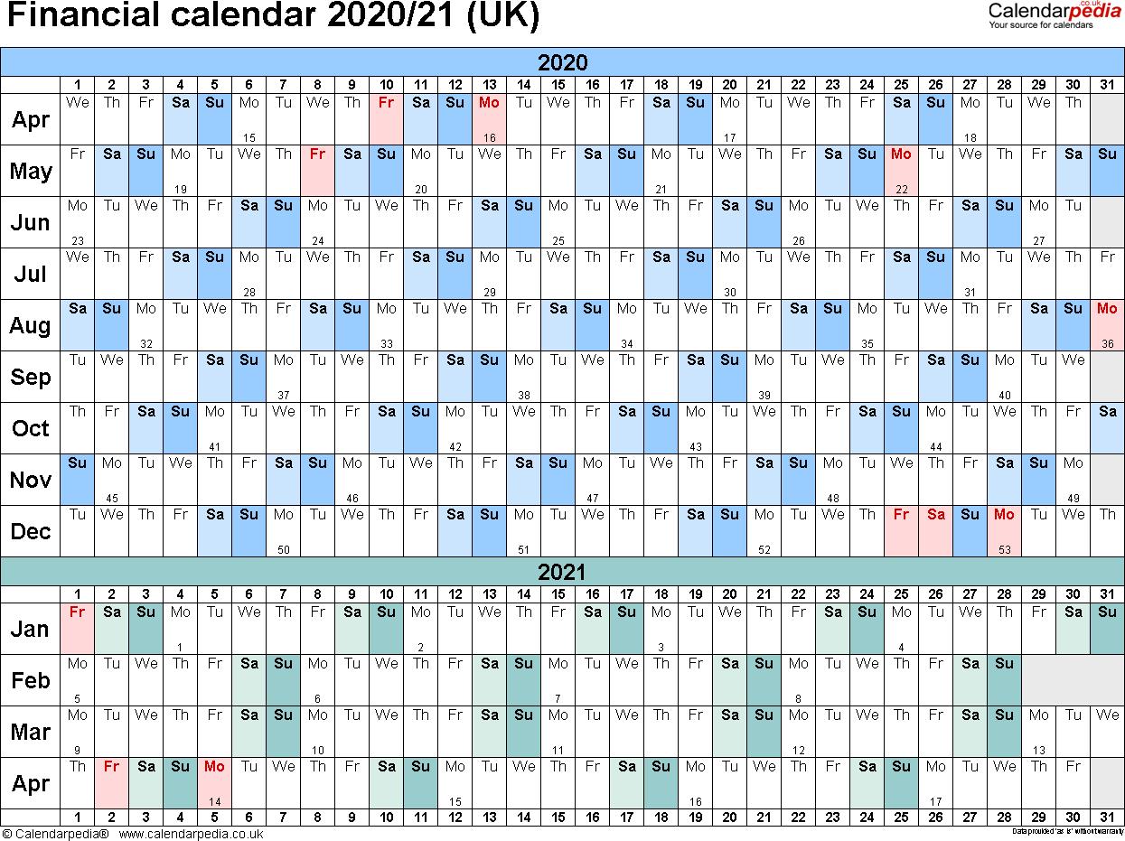 Hmrc Tax 2019 – 2020 Calendars   Calendar Template Printable