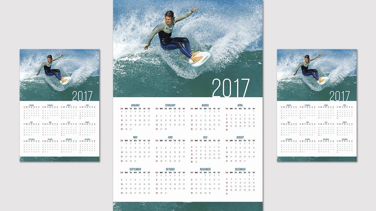 How To Create Or Design A Calendar In Indesign Cc - 2020