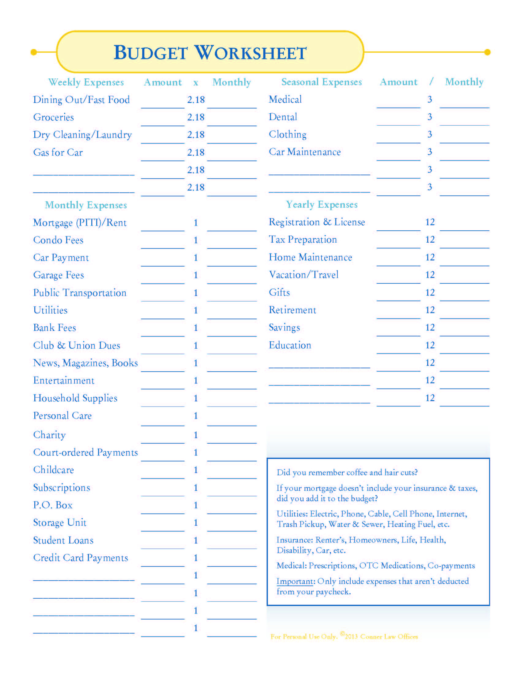 How To Make A #budget + #free Budget Worksheets! | Budgeting