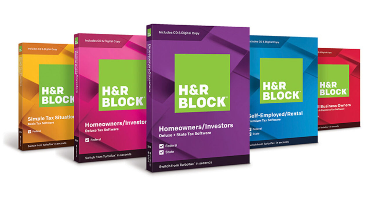 H&r Block Tax Software 2019 On Sale Now | H&r Block Newsroom