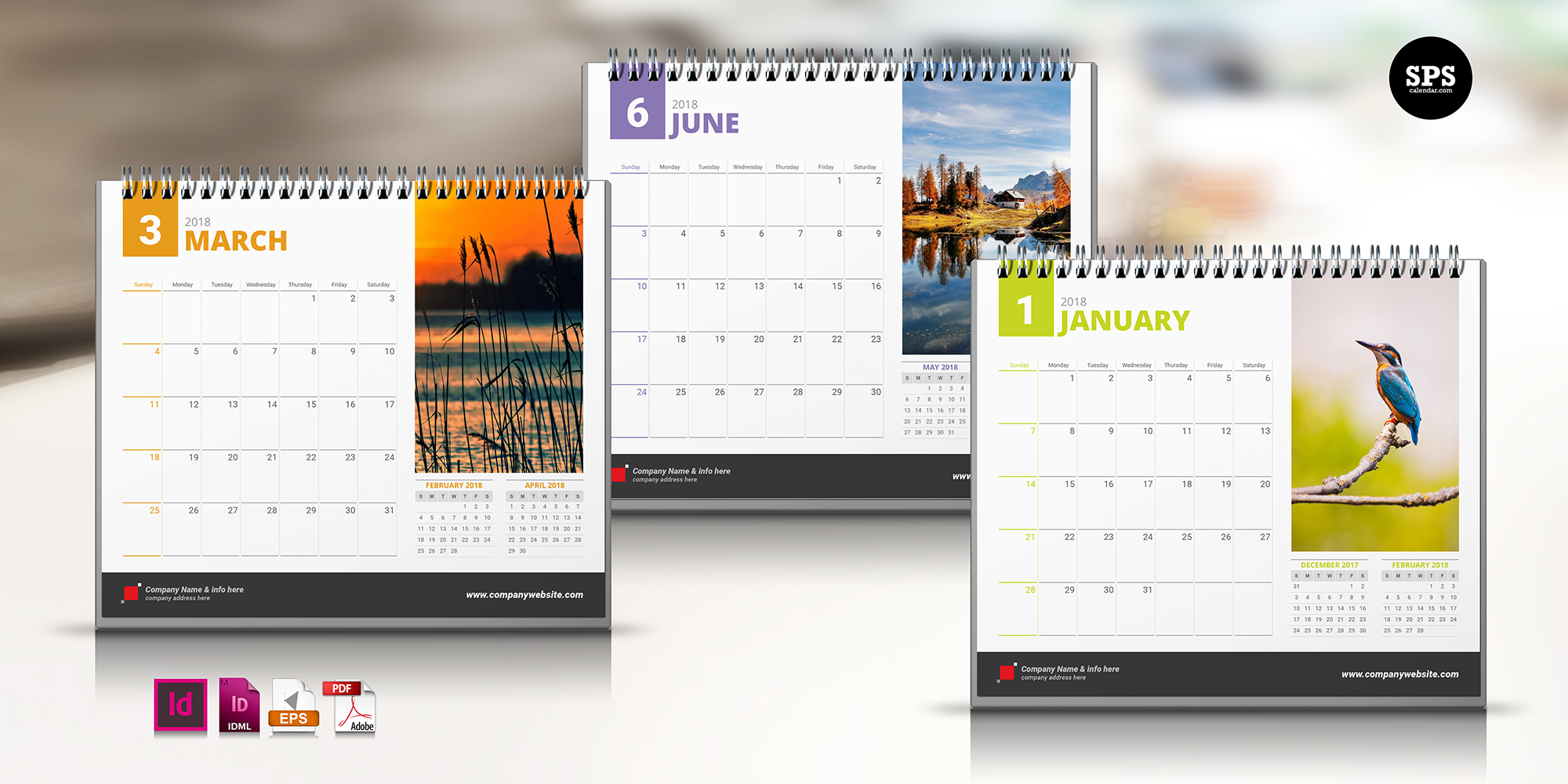 Indesign Calender Templates - Togo.wpart.co
