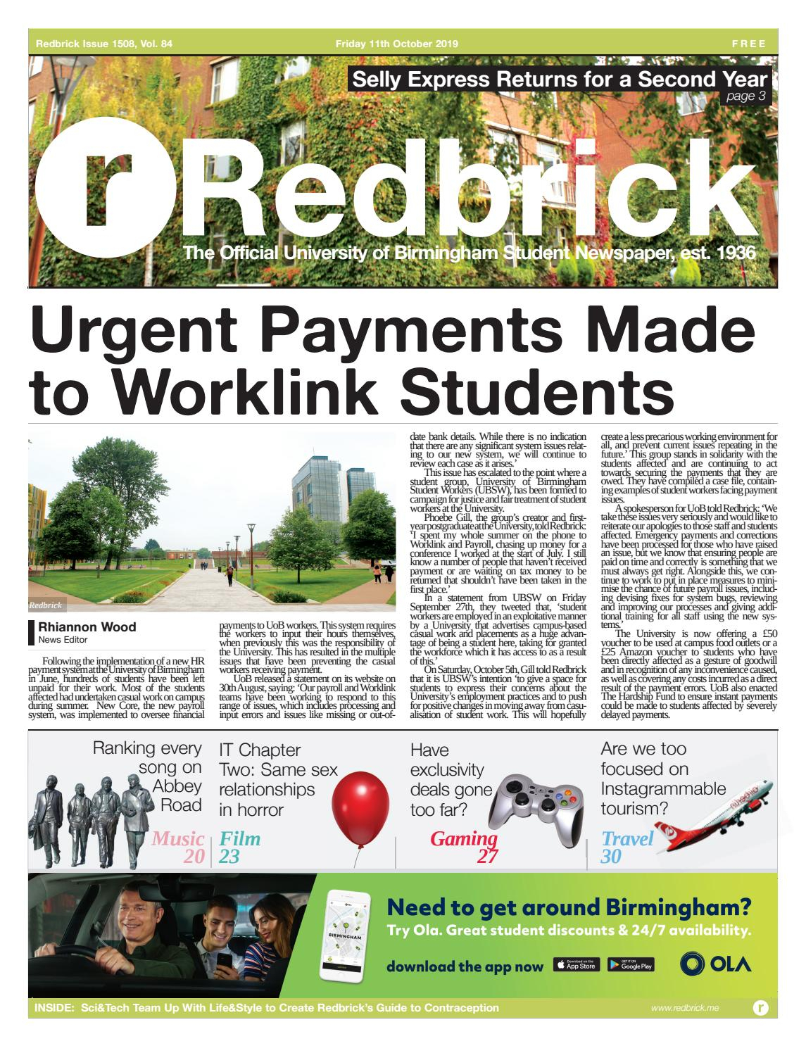 Issue 1508 By Redbrick - Issuu