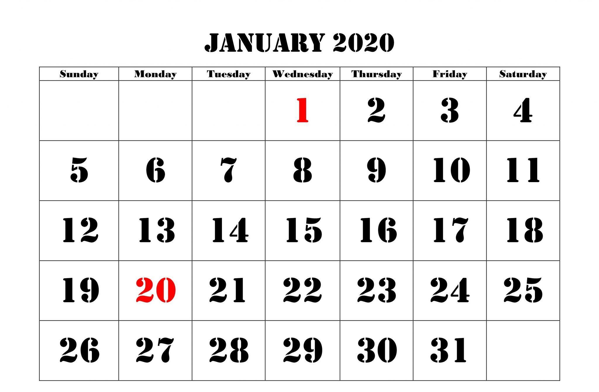 January 2020 Calendar Holidays Canada | Holiday Calendar
