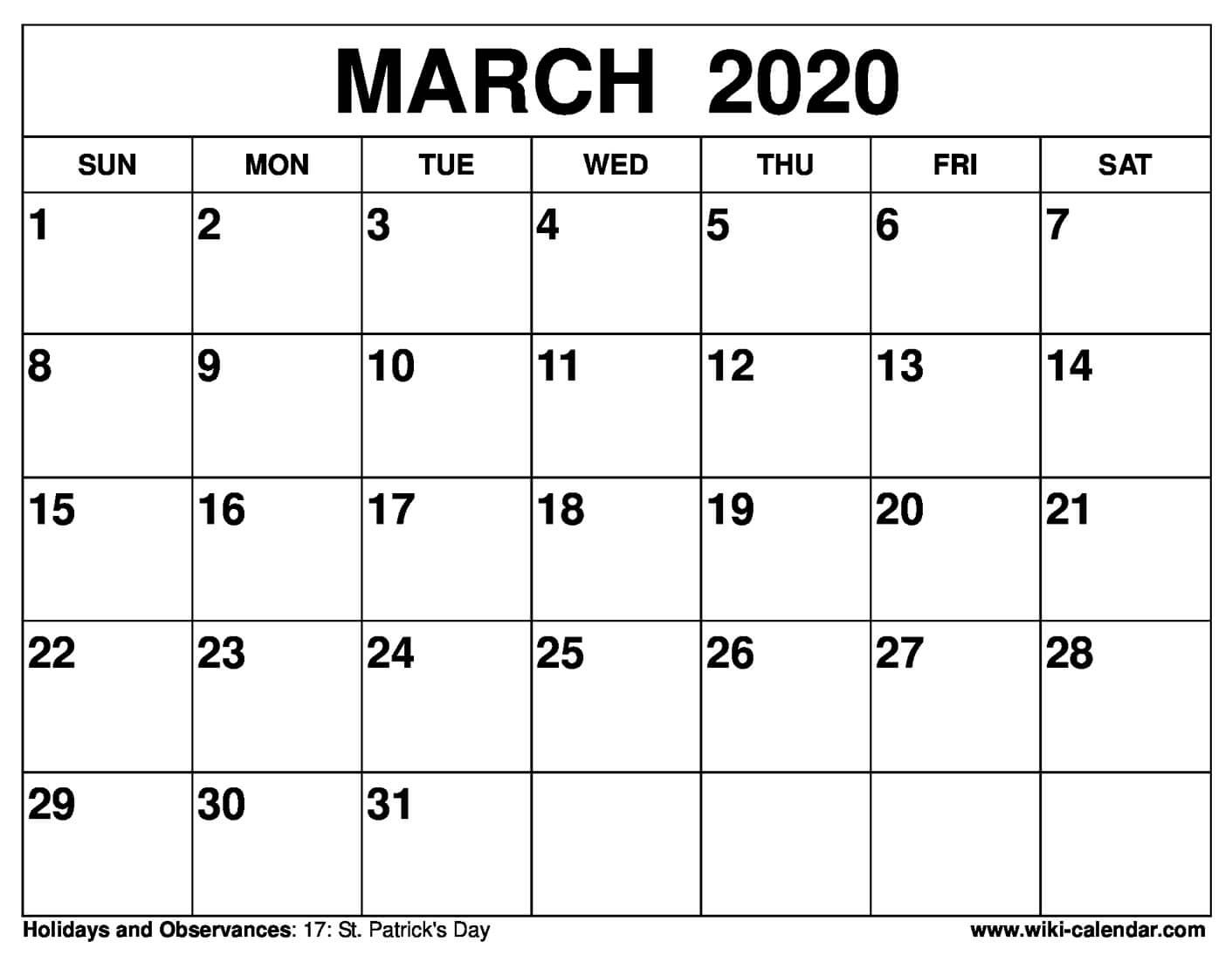 January 2020 Calendar Waterproof - Togo.wpart.co