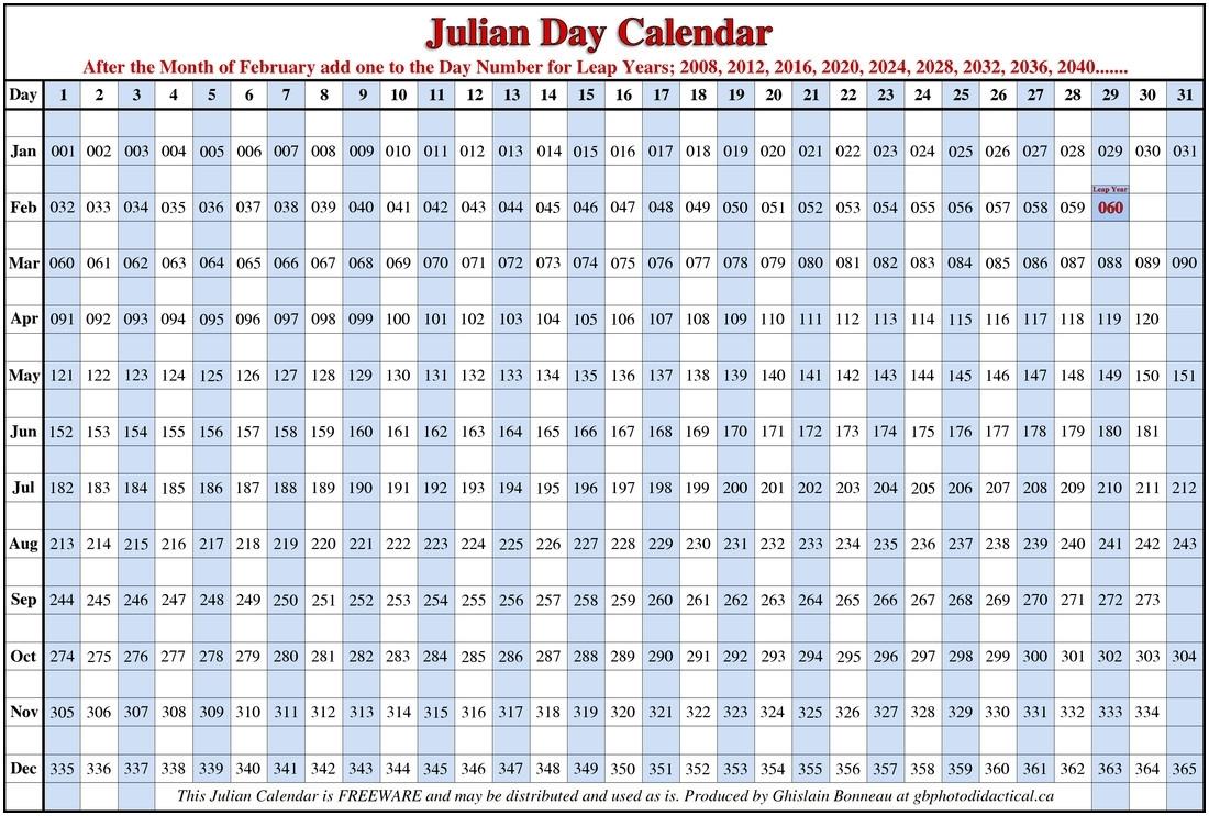 Julian Calendars - Togo.wpart.co