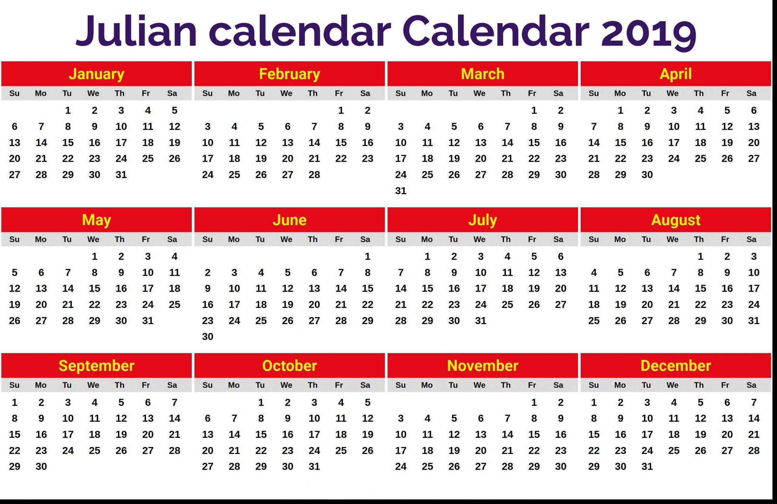 Julian Date Of June 3 2020 | Calendar Template