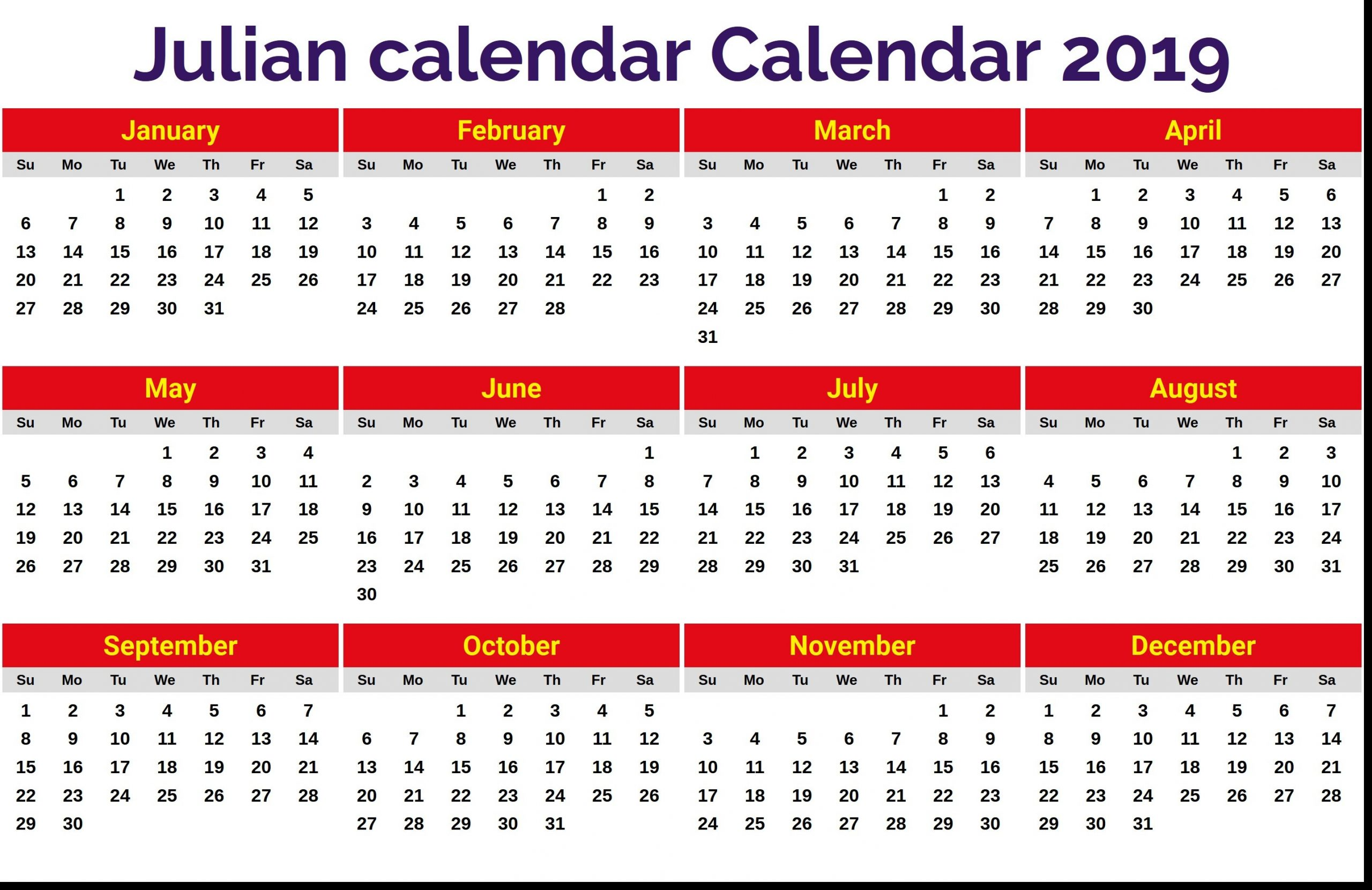 Julian Date Of June 3 2020 | Calendar Template