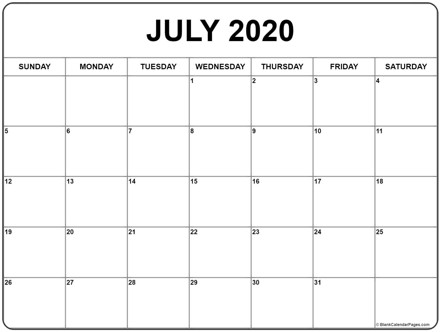July 2020 Template - Togo.wpart.co