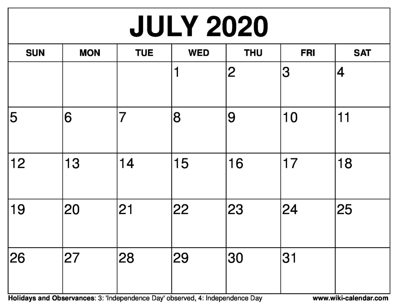 July Calendar - Saves.wpart.co