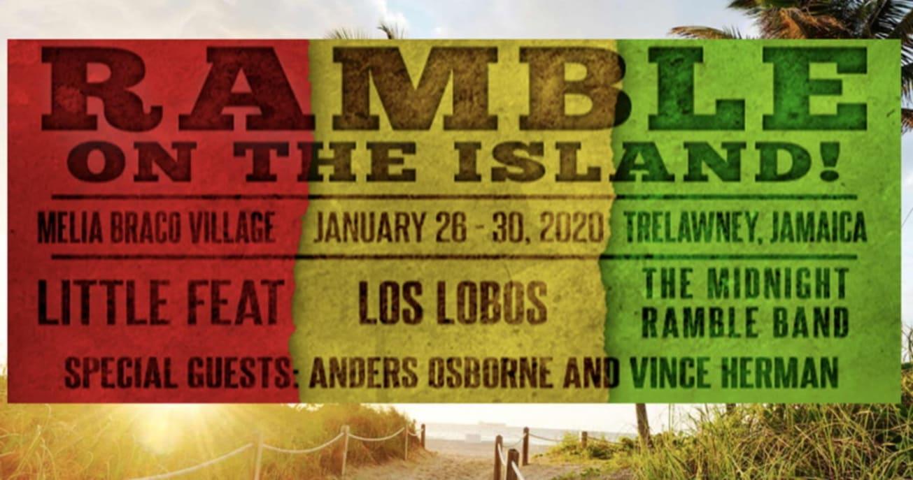 Little Feat Adds Scott Sharrard For Ramble On The Island 2020