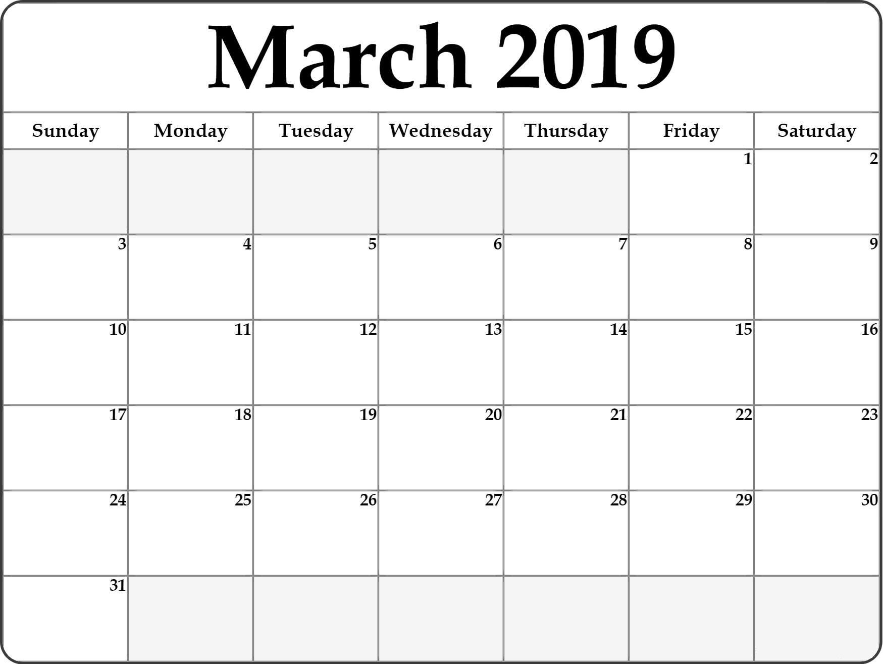 March Comes As Third Month Of The Year With Total Of 31 Days