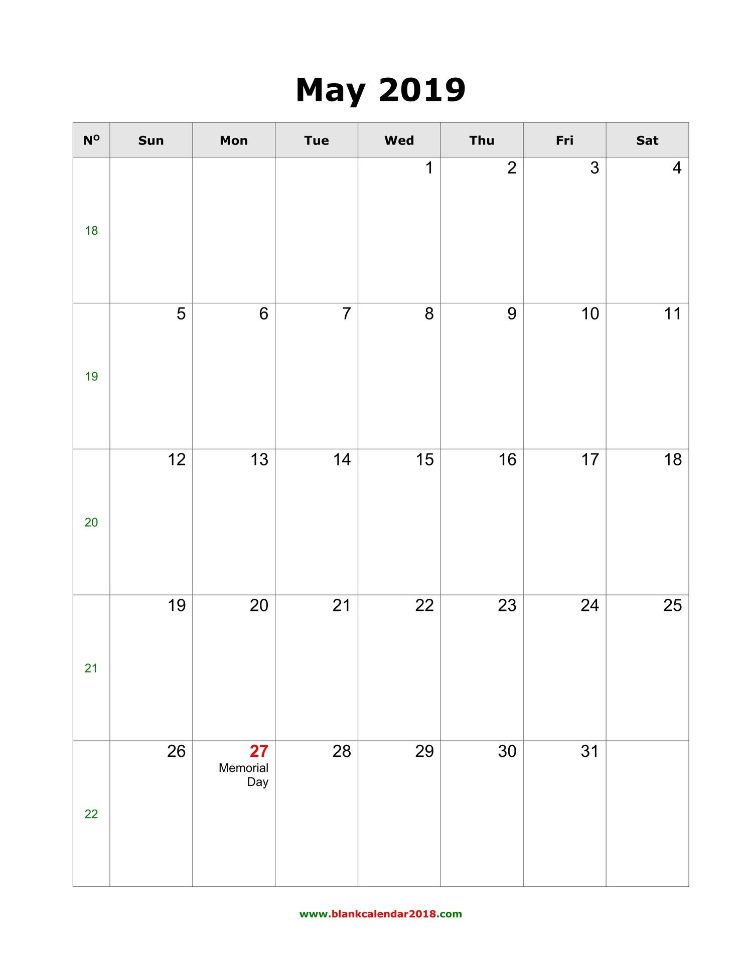 May 2019 Calendar With Holidays Philippines | Excel Calendar
