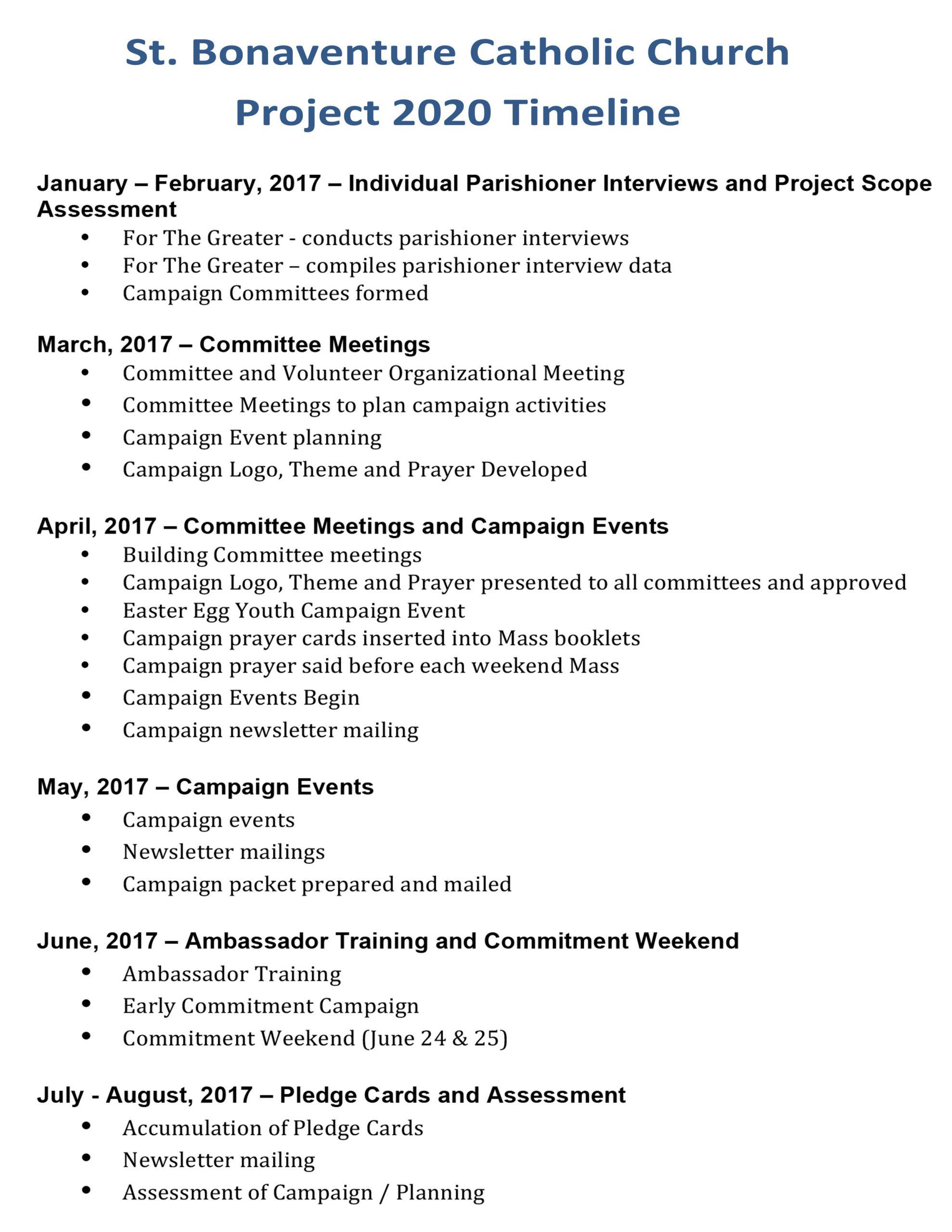 Microsoft Word - Project 2020 Timeline.docx - Saint