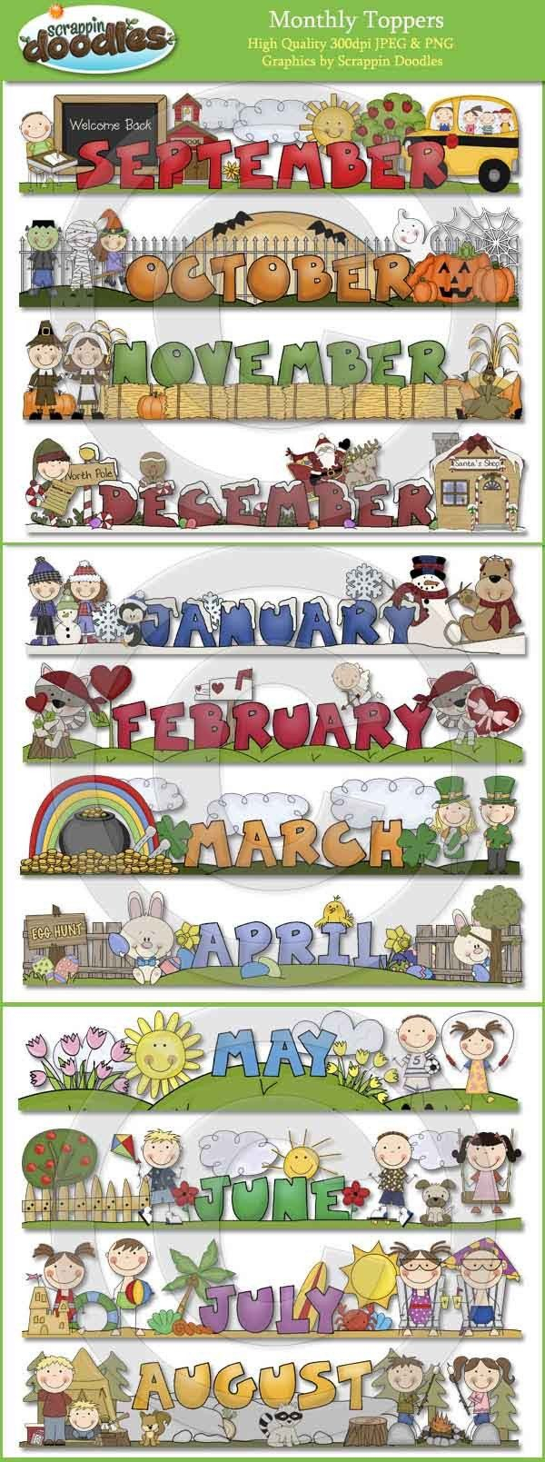 Monthly Toppers - January Through December | English