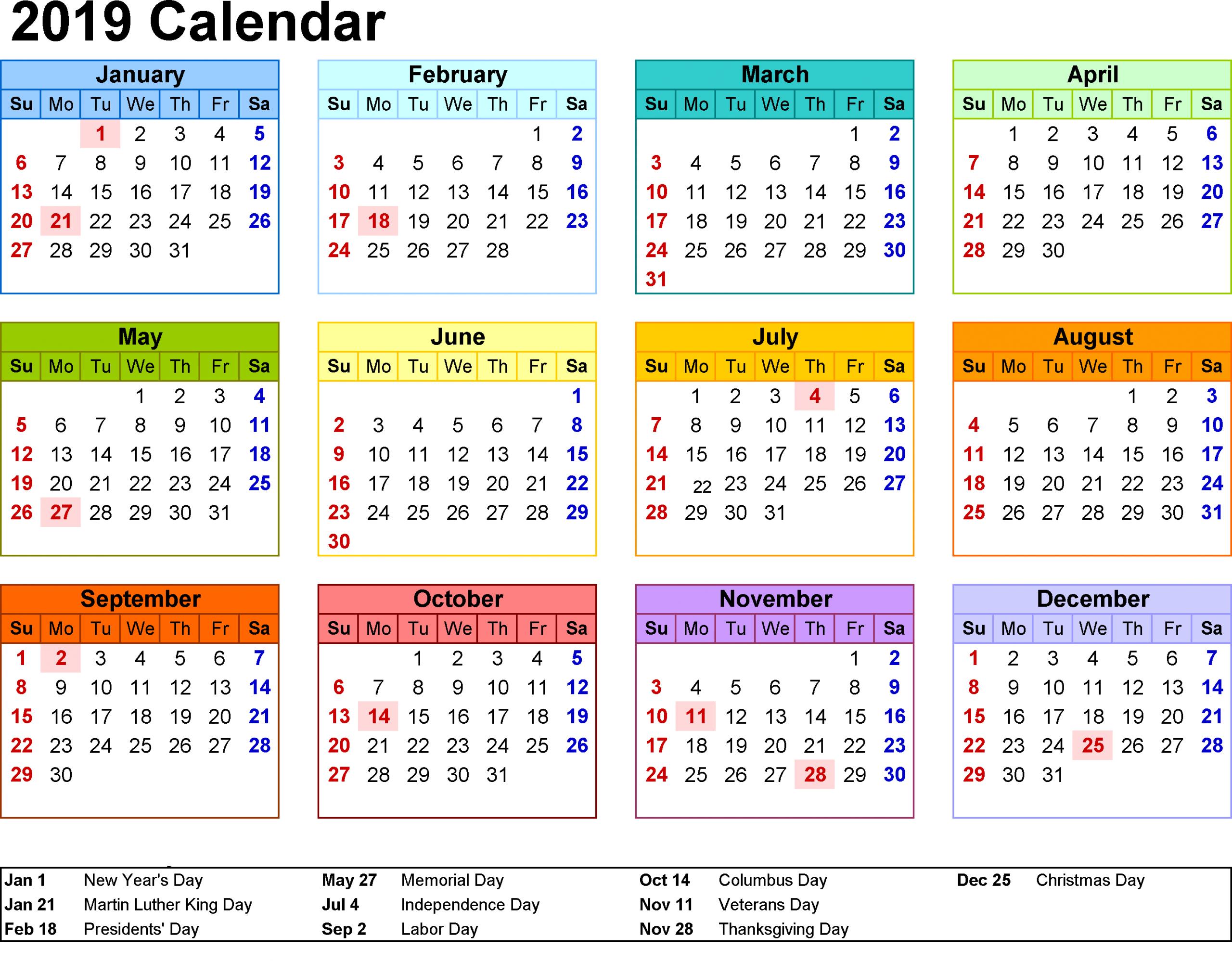 November 2019 Calendar Malaysia - Togo.wpart.co
