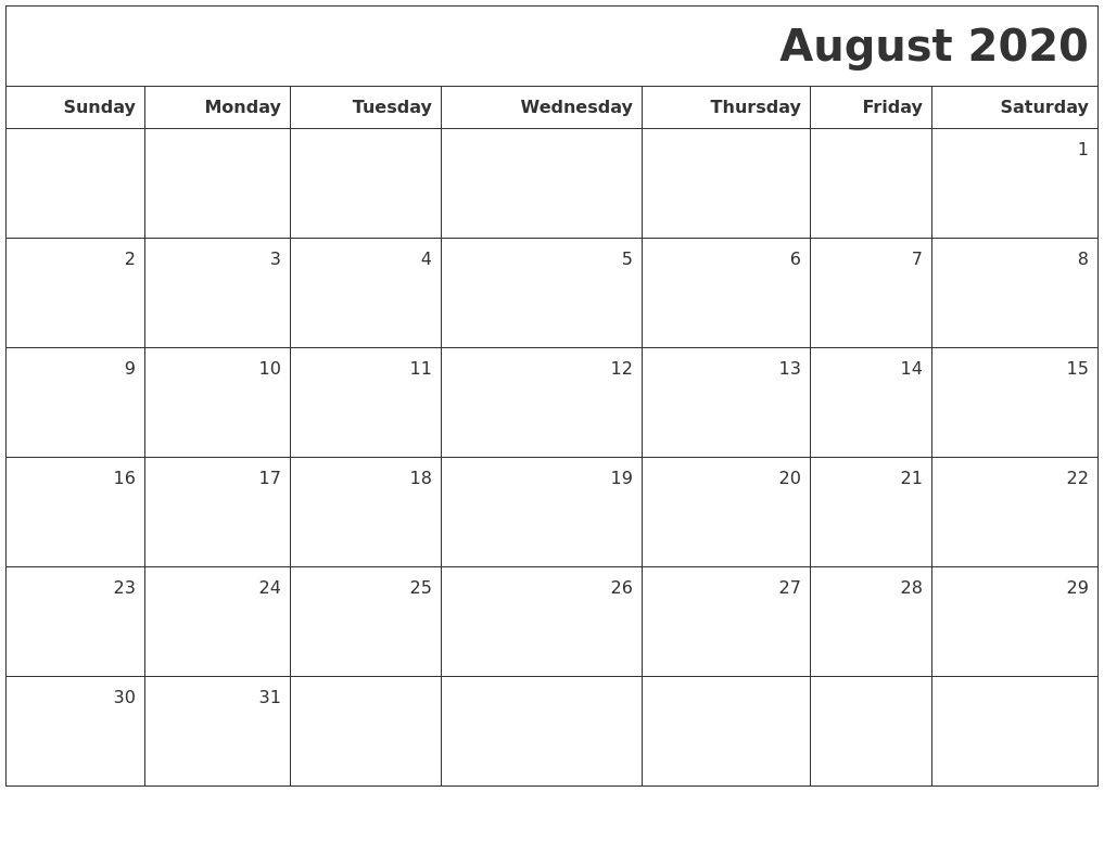 November 2020 Print A Calendar 2020 Calendars Free Printable
