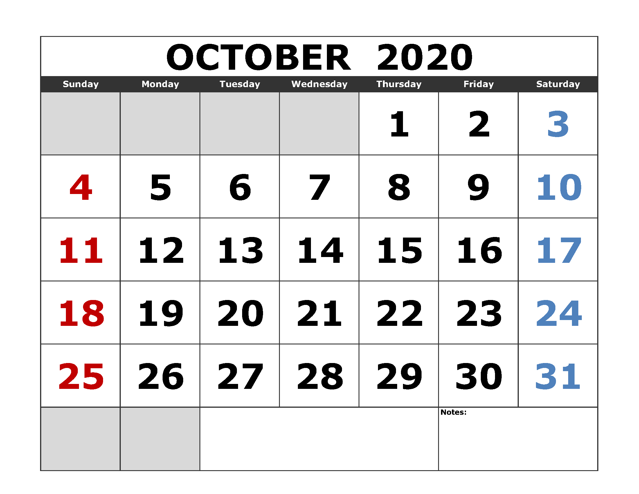 October 2020 Calendar Printable Tips You Will Read This Year