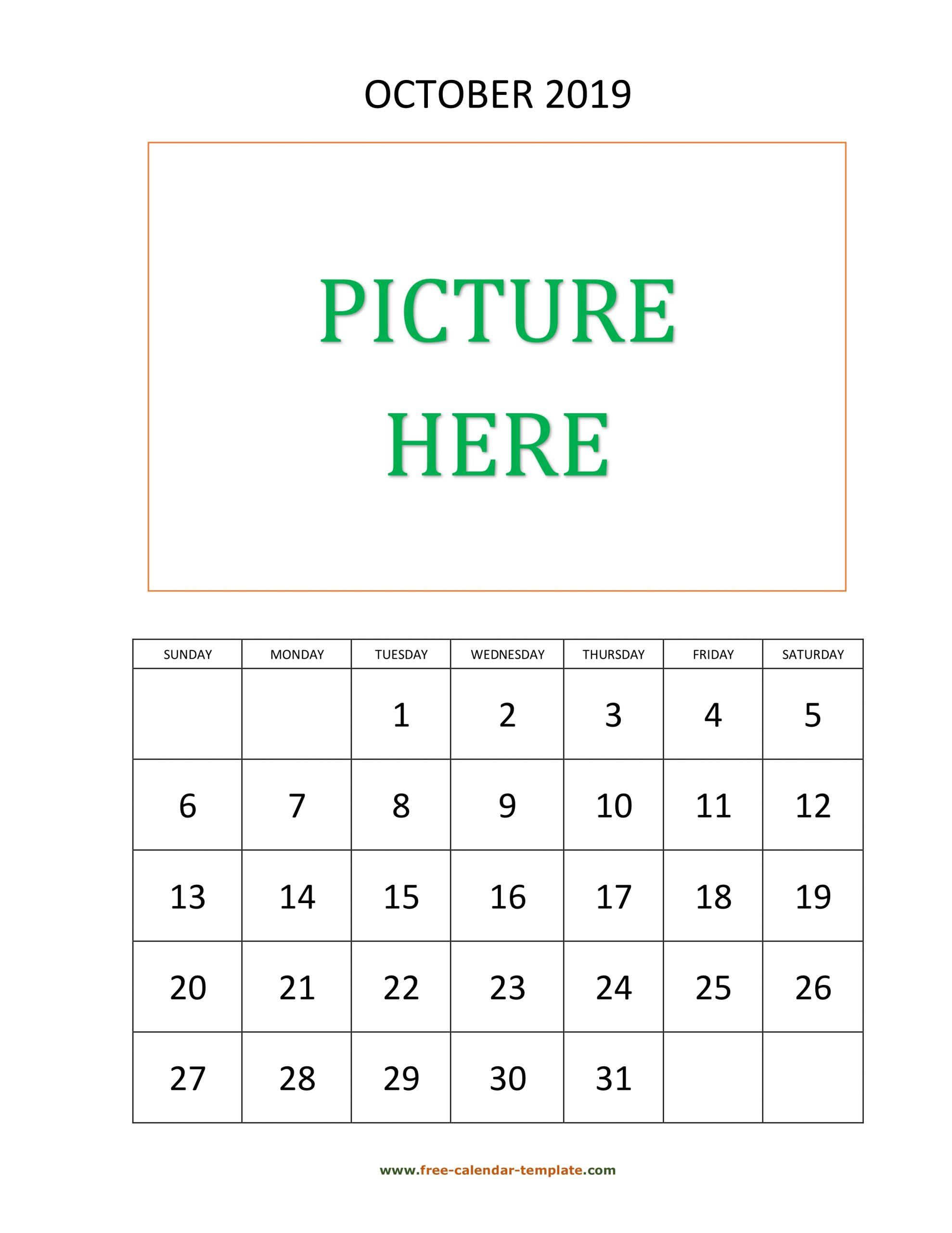 October 2020 Editable Calendar - Togo.wpart.co