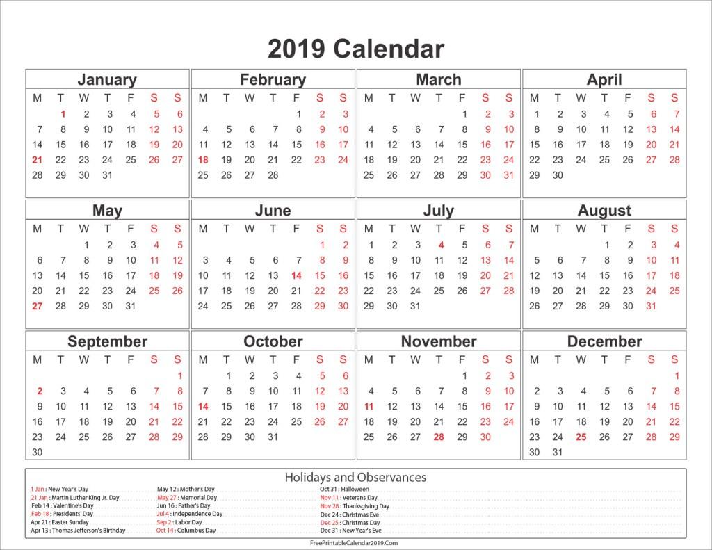 Online Calendar Printable - Togo.wpart.co