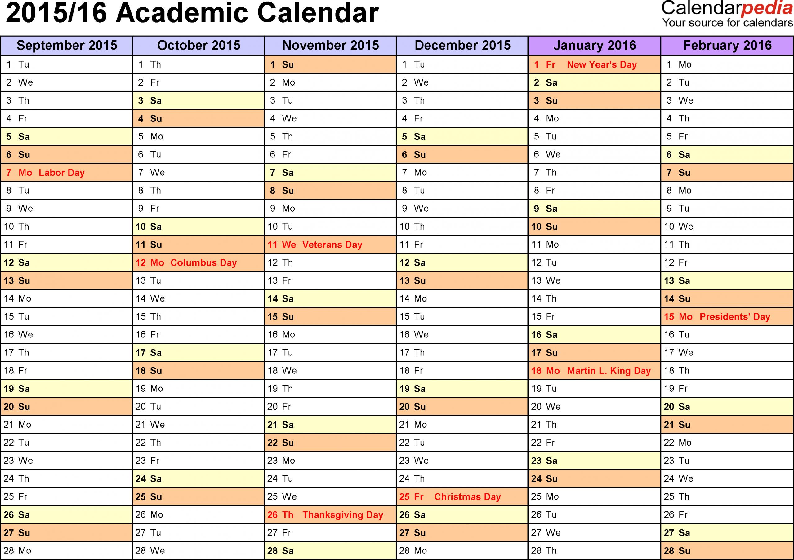 Online School Calendar - Saves.wpart.co