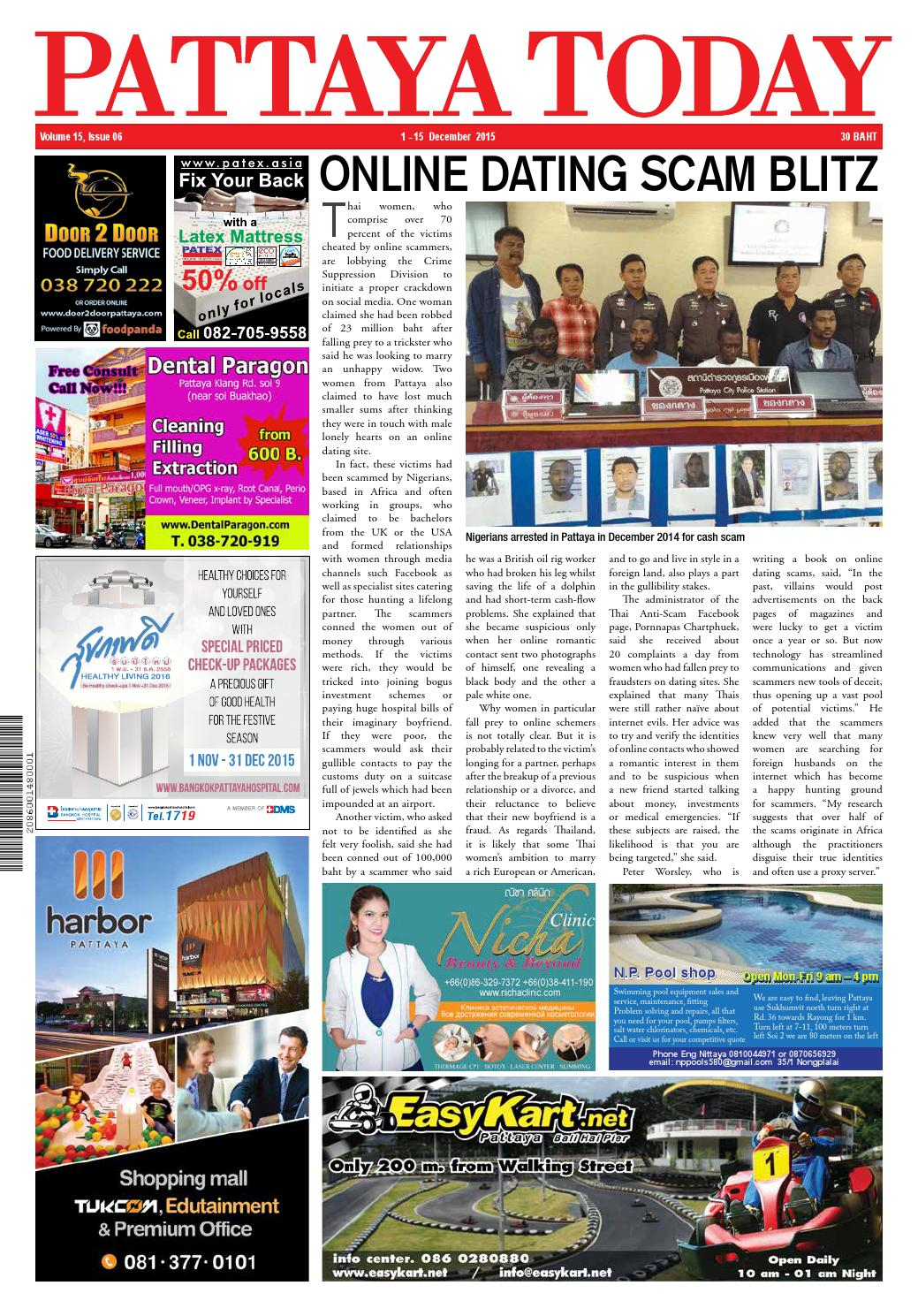 Pattaya Today Vol 15 Issue 06 - 1-15 December 2015 By