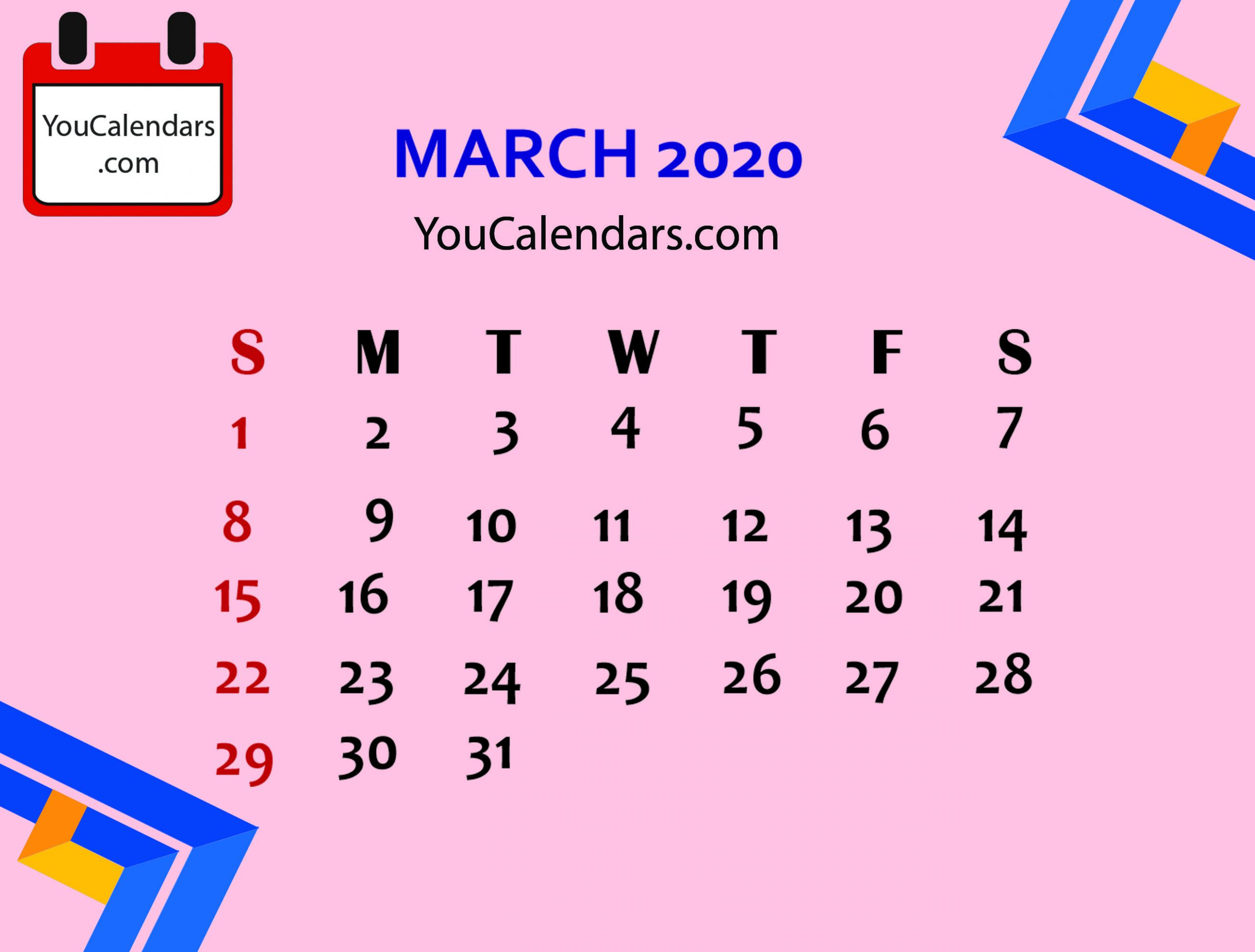 Pin By Calendar On Academic Calendar In 2019 | March