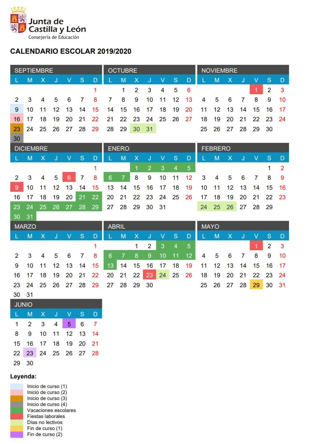 Plantillas Calendarios 2020 - Togo.wpart.co