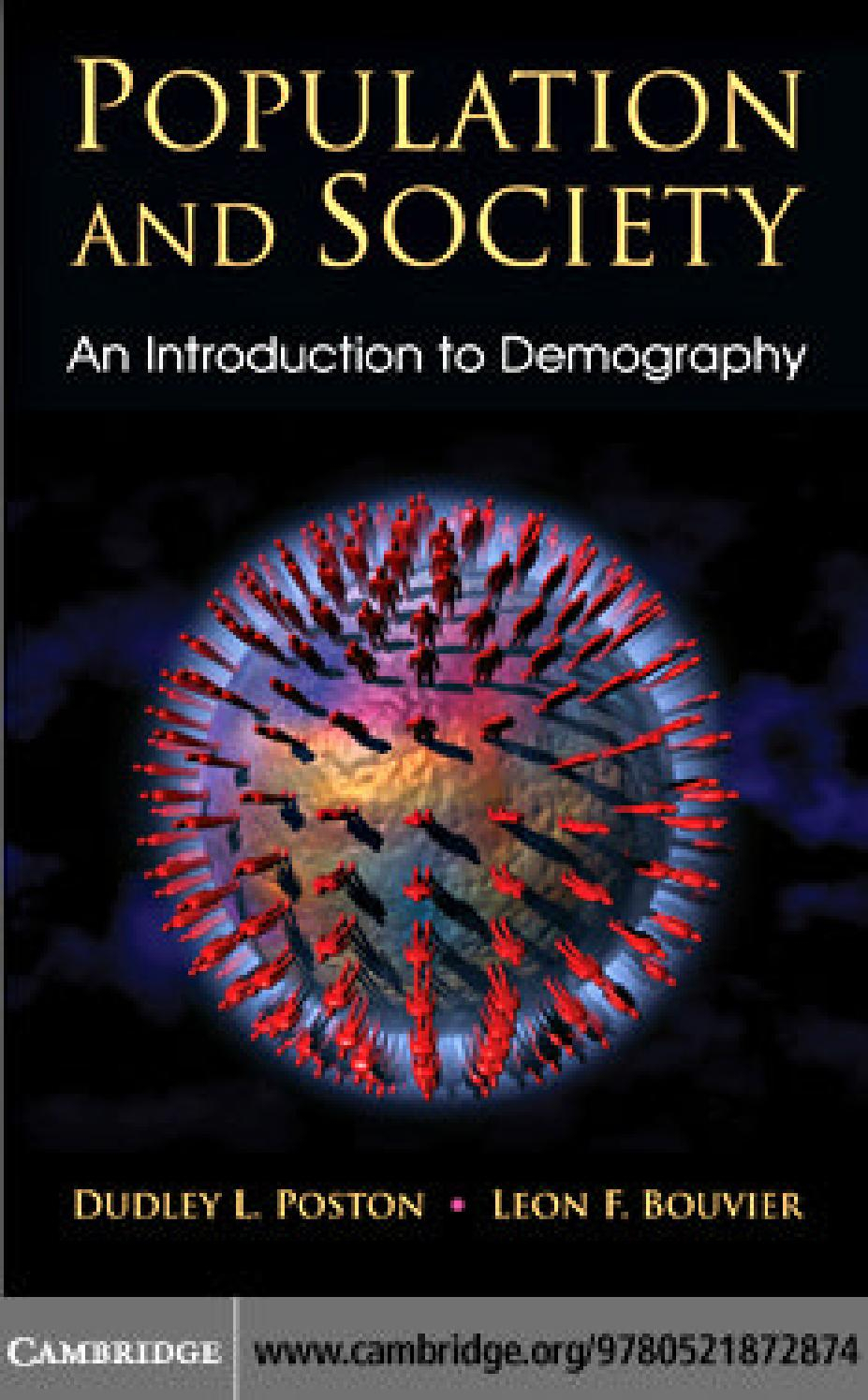 Population And Society - An Introduction To Demography By