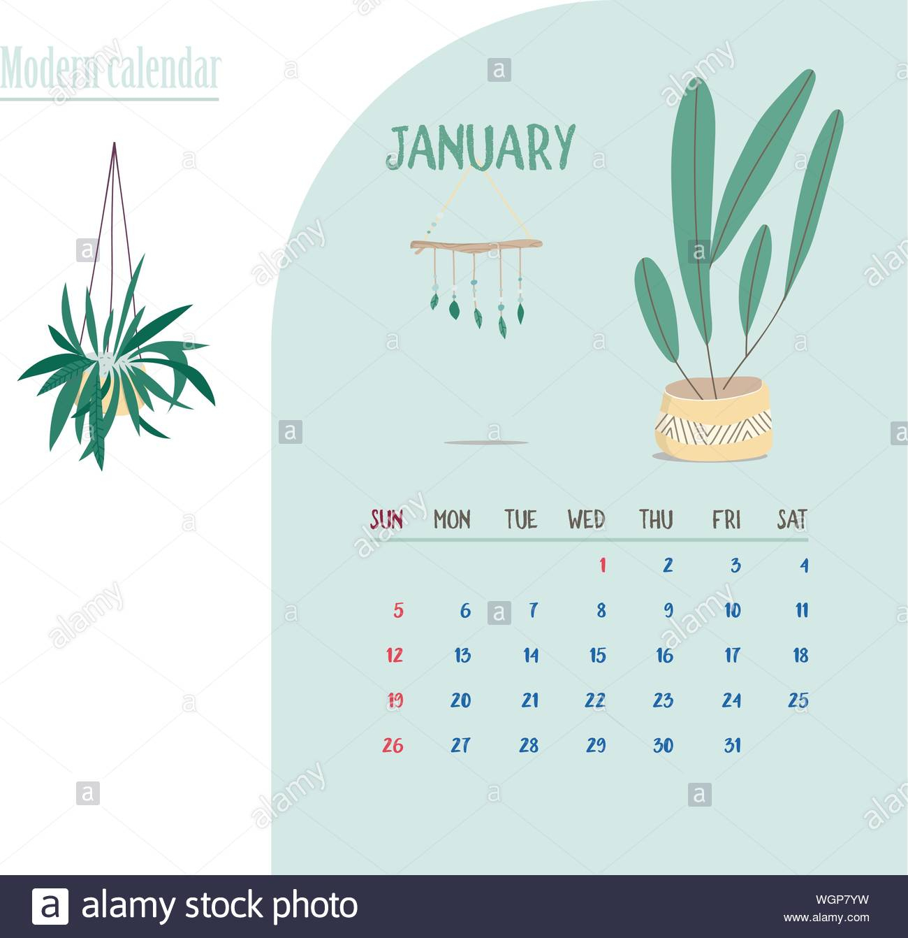 Printable Calendar Cut Out Stock Images & Pictures - Alamy