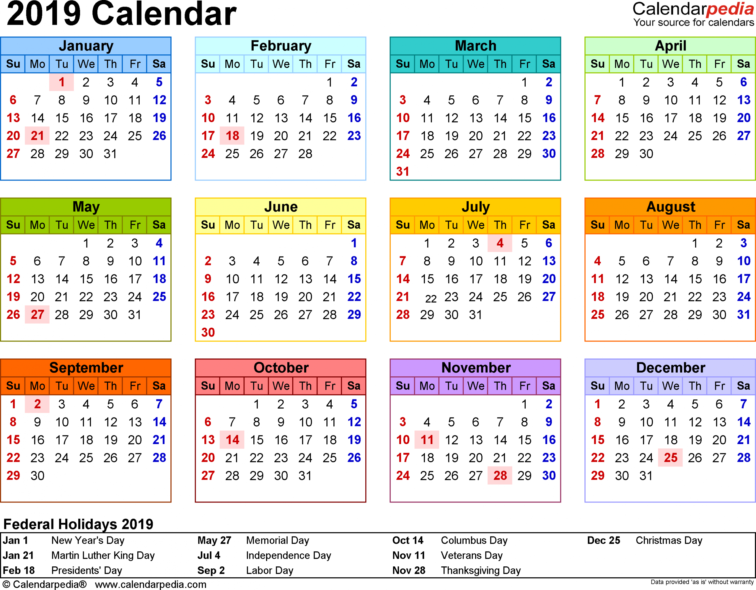 Printable Pocket Yearly Calendar | Calendar 2014 Free Uk