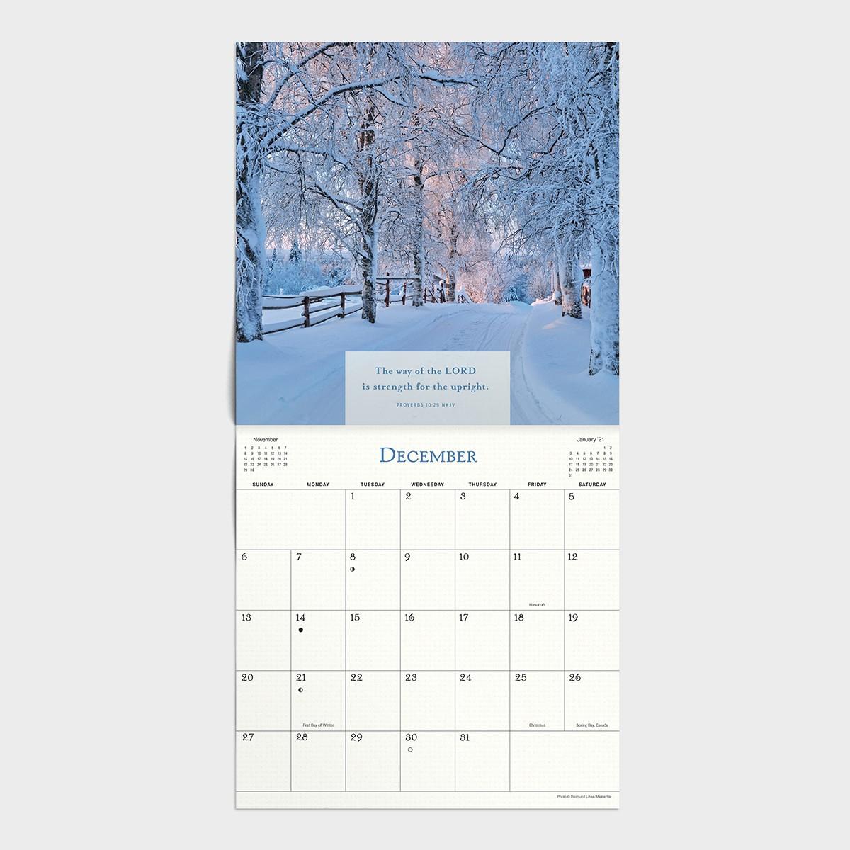 Proverbs - 2020 Wall Calendar