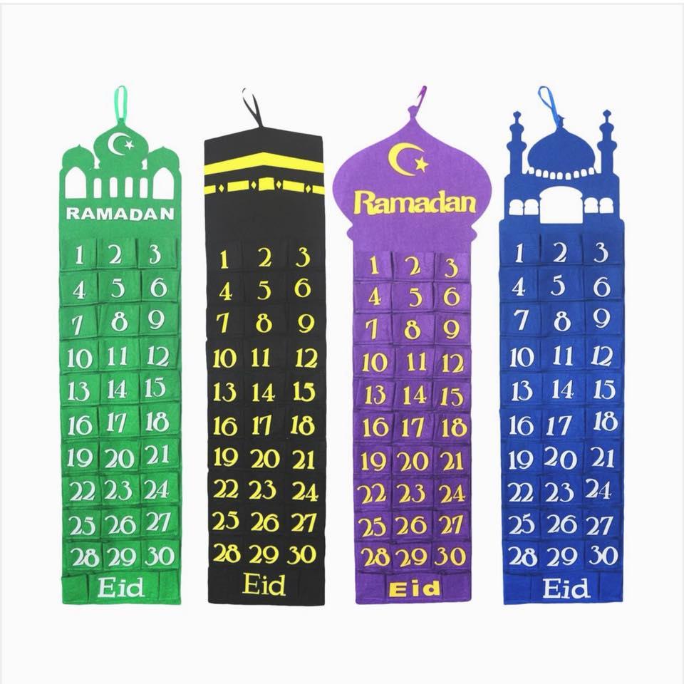 Ramadan Idea 1: Countdown Calendar Ideas | Buzz Ideazz