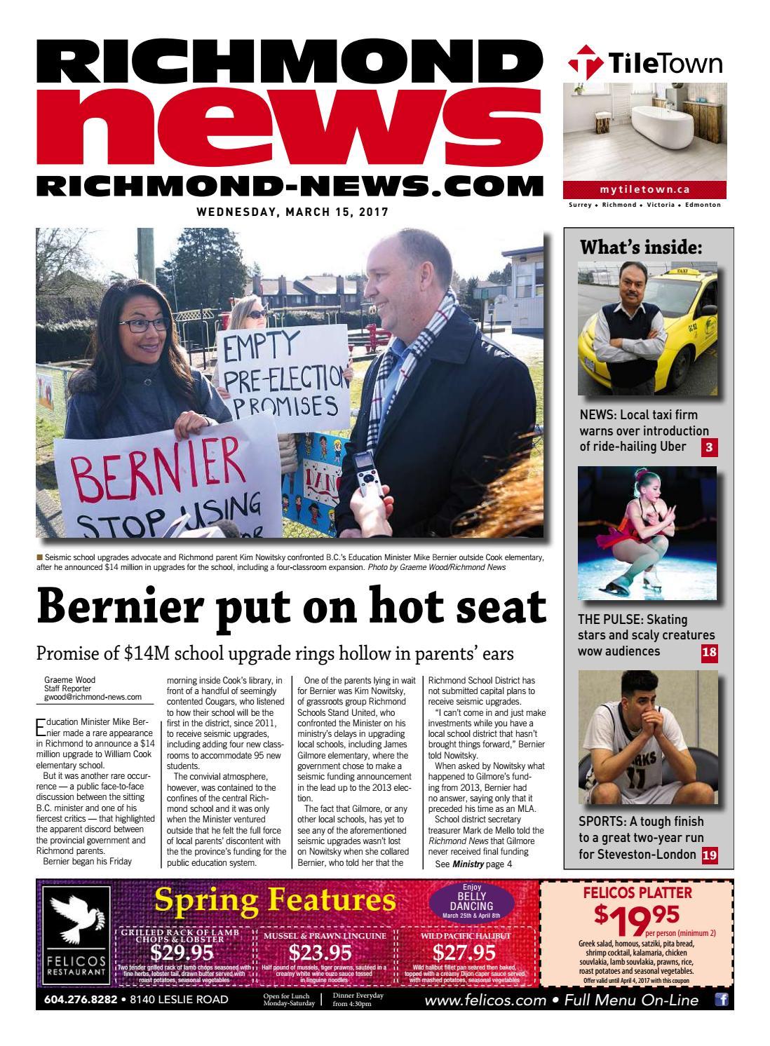 Richmond News March 15 2017 By Richmond News - Issuu