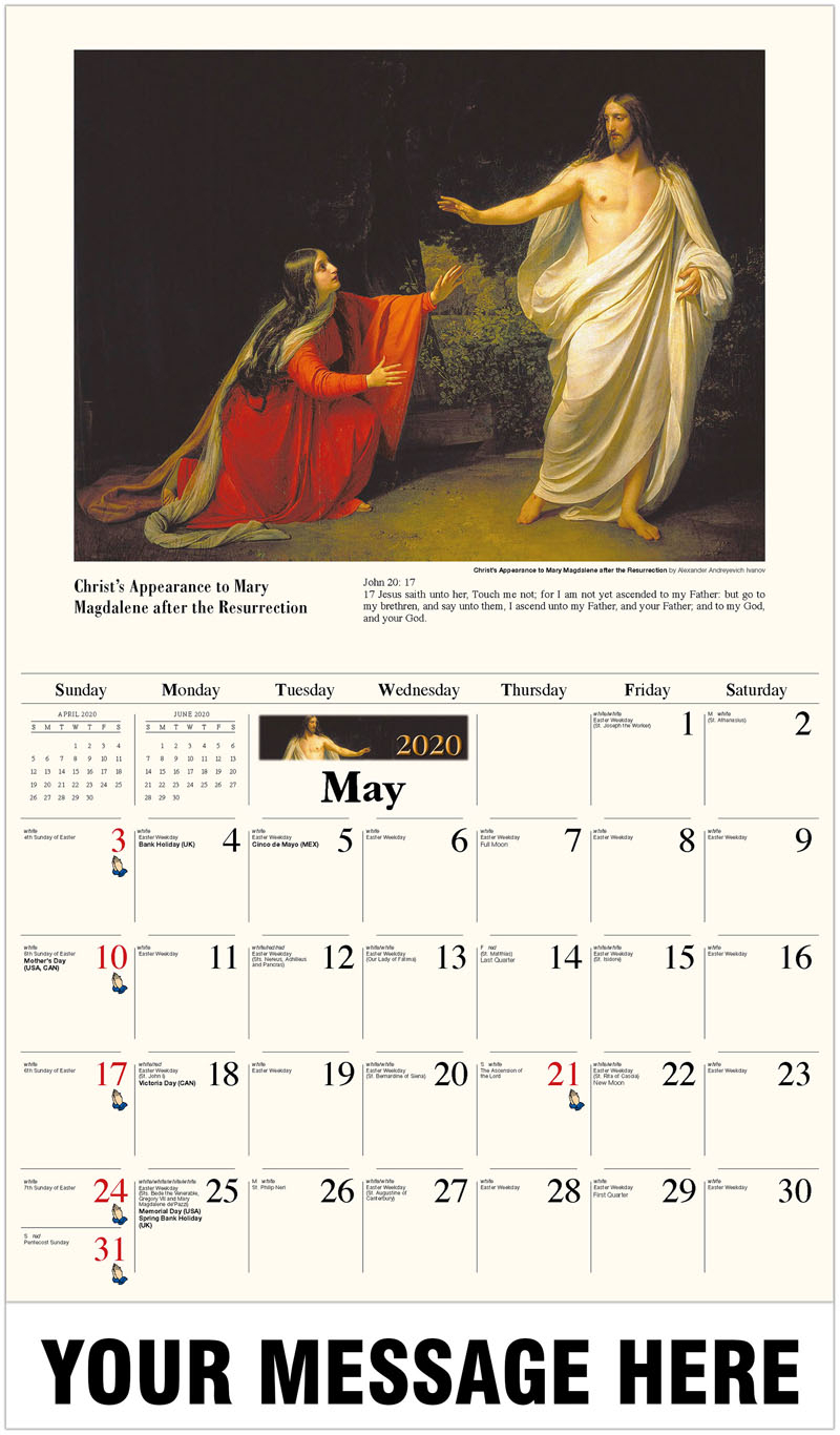 Roman Catholic Calendar 2020 | Free Printable Calendar