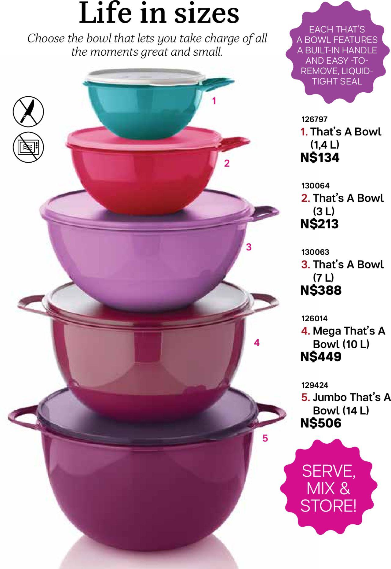 Sa Tupperware For January 2020 Catalogue | Calendar