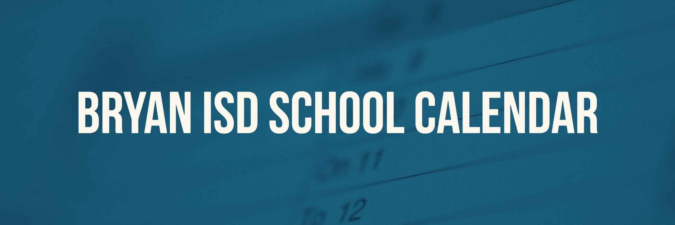 School Calendar, Testing & Fine Arts/athletics Events