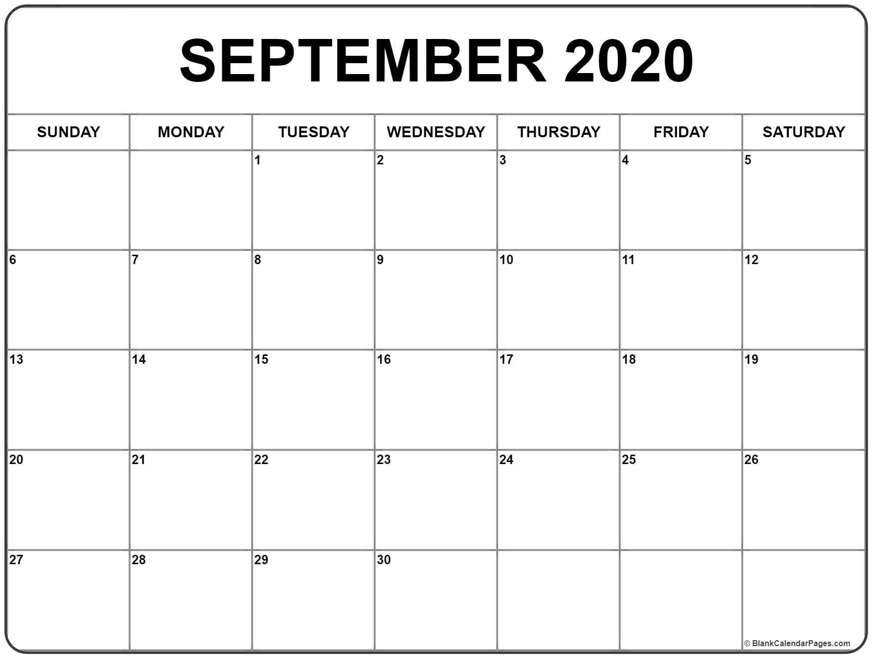September 2020 Calendar With Holidays - Togo.wpart.co