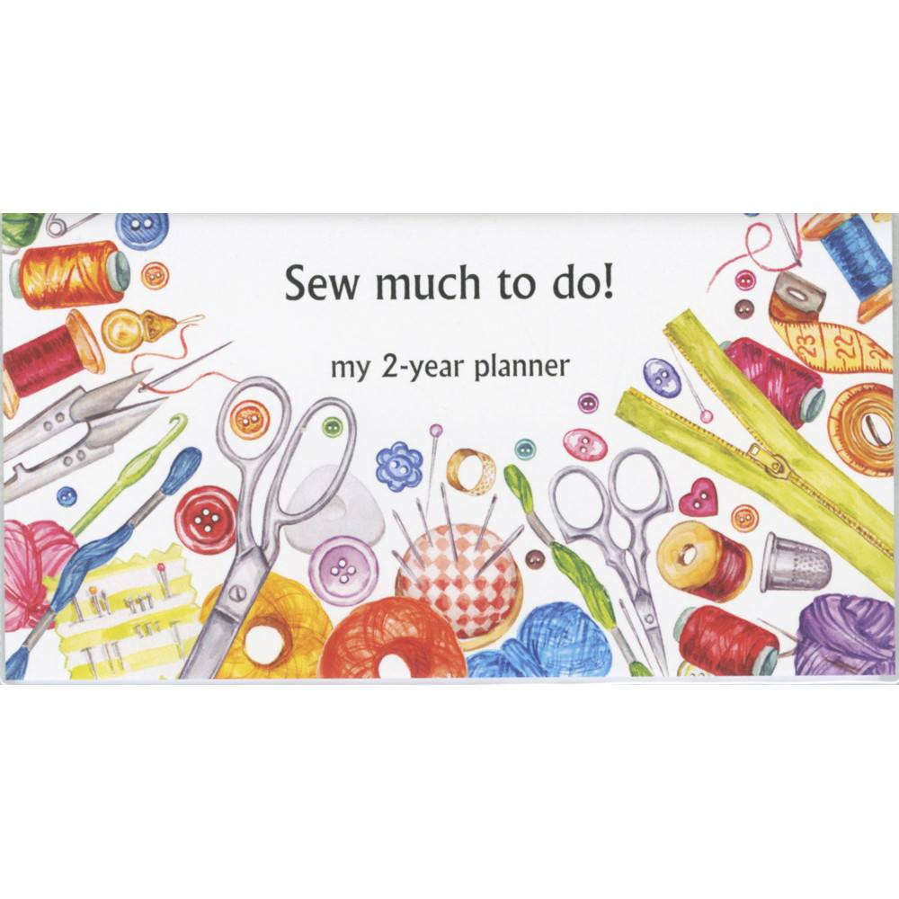 Sew Much To Do - 2 Year Pocket Planner 2020/2021