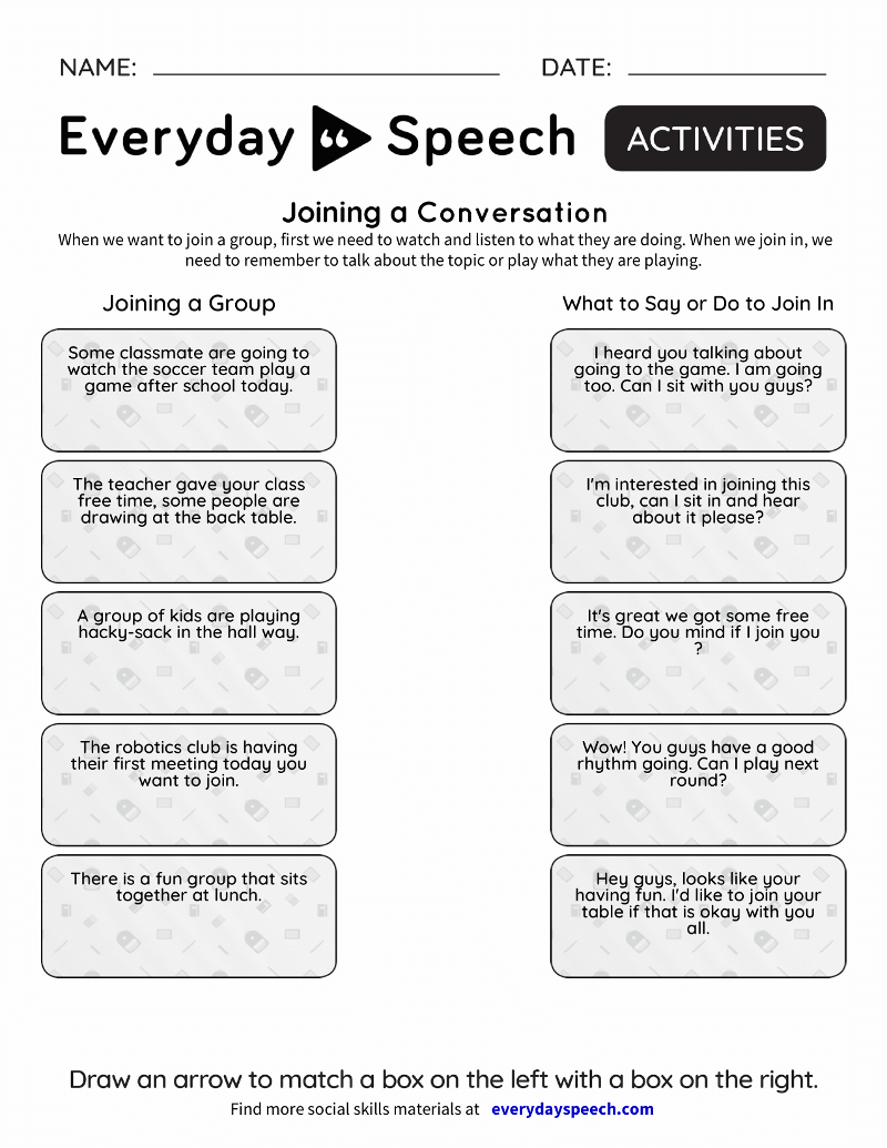 Social Skills Video Lessons For Students | Everyday Speech