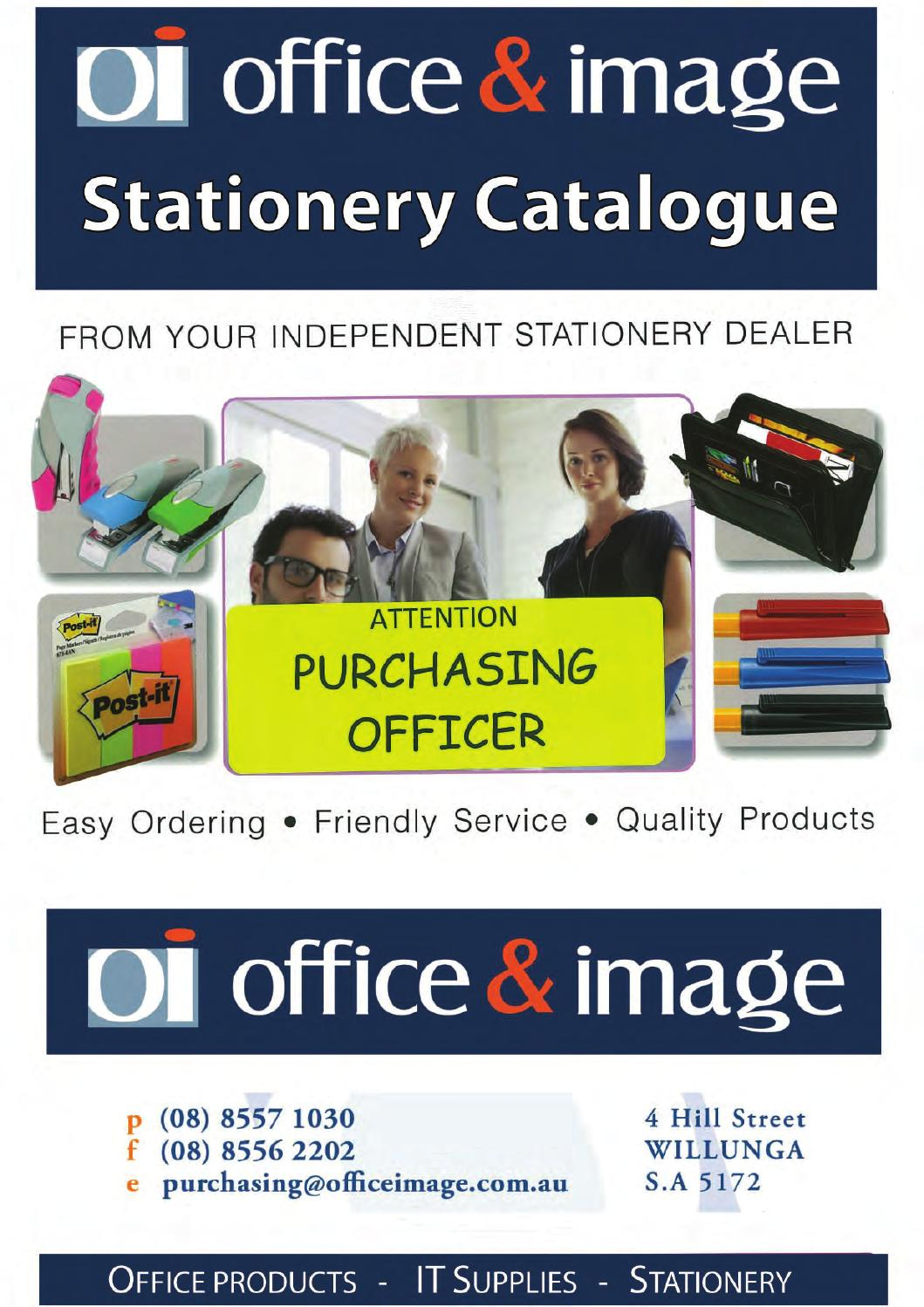 Stationery Catalogue By Office & Image Services - Issuu