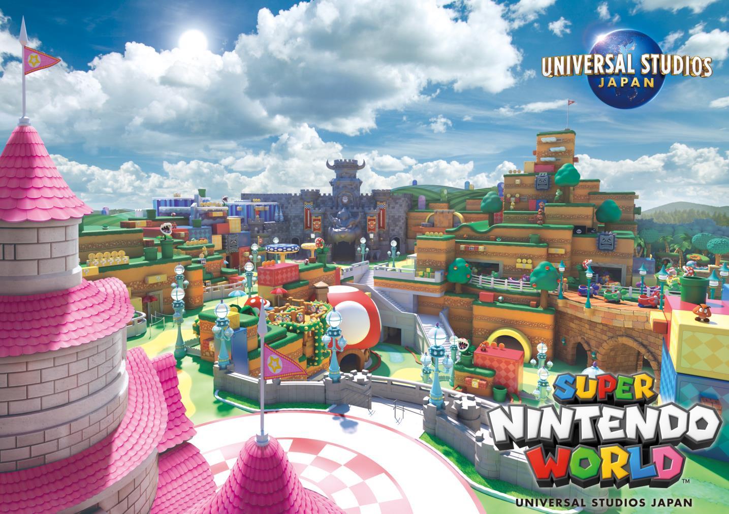 Super Nintendo World Opens In 2020 At Universal Studios Japan