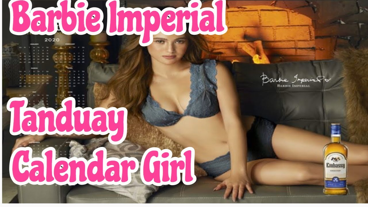 Tanduay Calendar Girl 2020 - Barbie Imperial