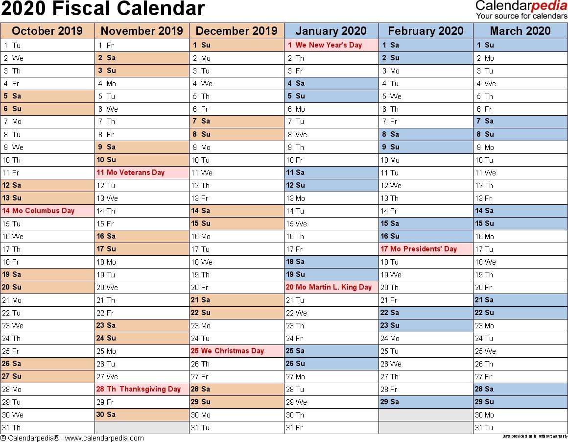 Tax Calender 2019/2020 - Calendar Inspiration Design