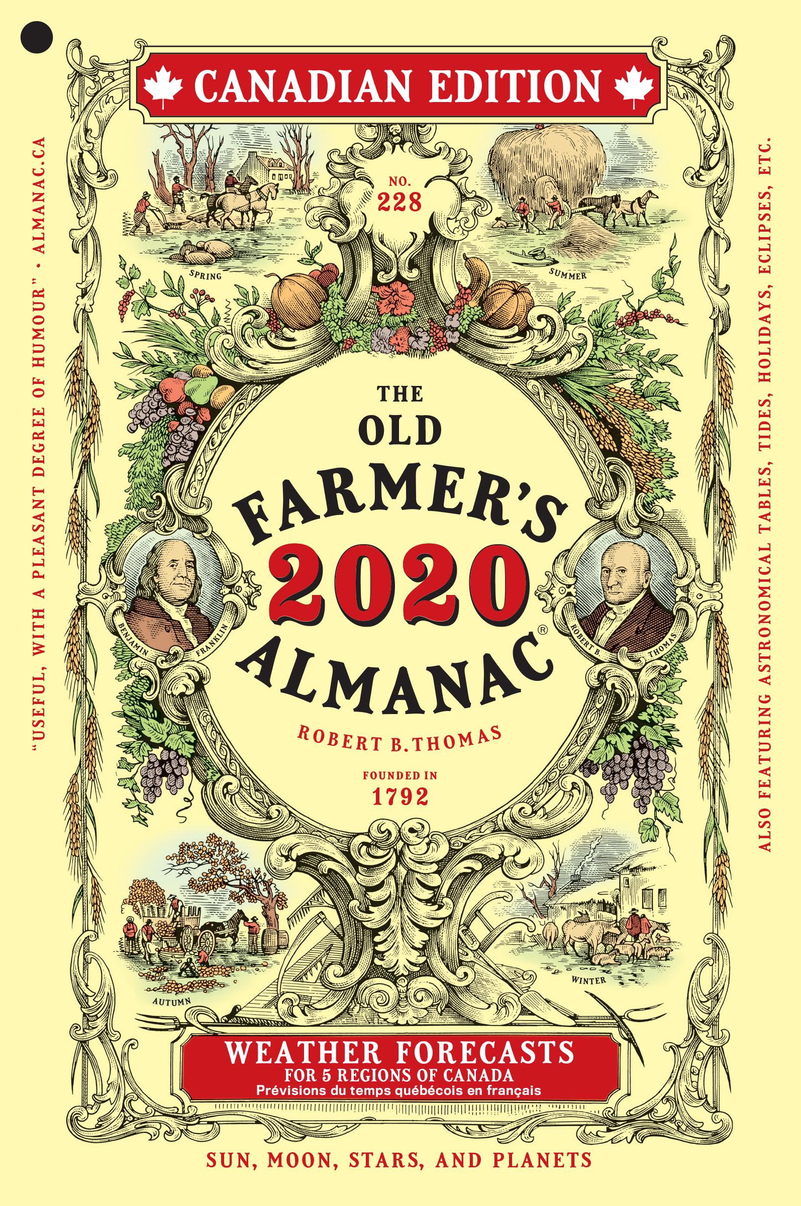 The 2020 Old Farmer's Almanac | Old Farmer's Almanac