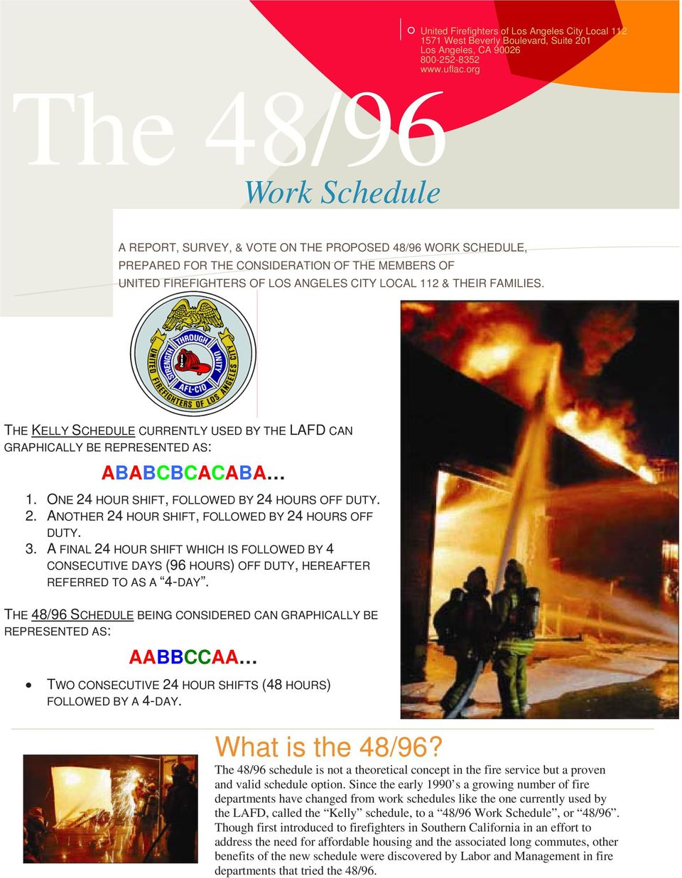 The 48/96. Work Schedule - Pdf Free Download