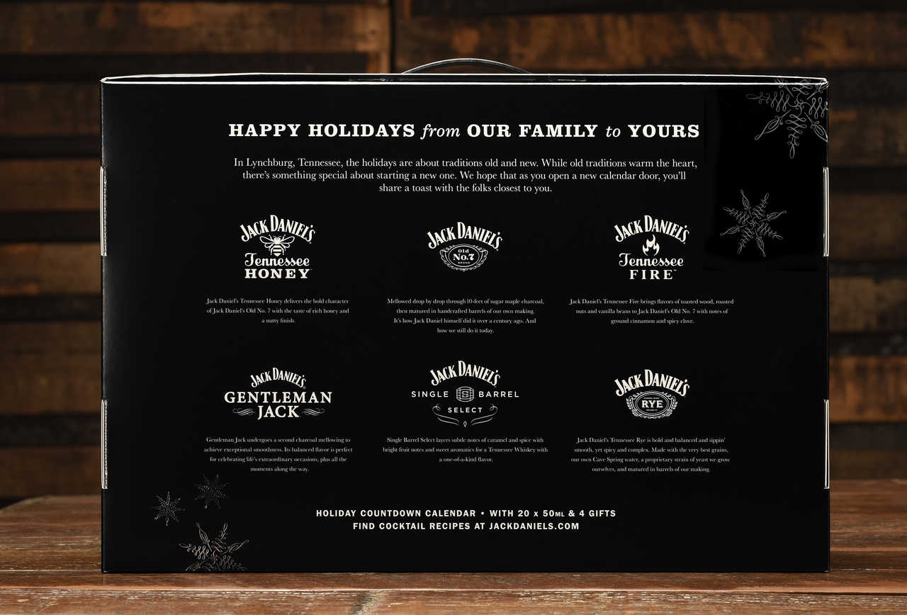 The Jack Daniels Advent Calendar Will Keep You Warm All